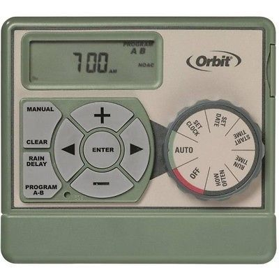 Watering Timers and Controllers 75672: Orbit Sprinkler System 6-Station Standard Indoor Mounted Control Timer #57161 -> BUY IT NOW ONLY: $34.43 on eBay!