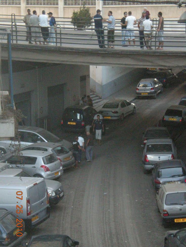 Viaduc du boulevard Krim Belkacem à Alger.