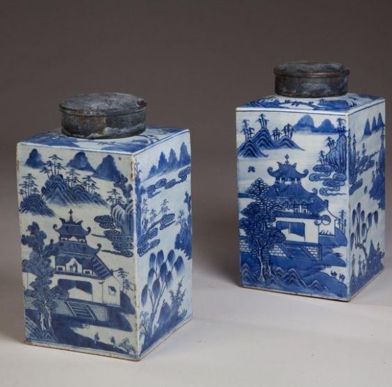 A pair of stunning Chinese jars .. Tarquin Bilgen