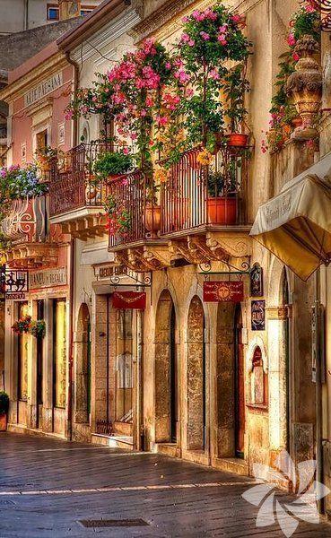 Sicilya, italya sokakları
