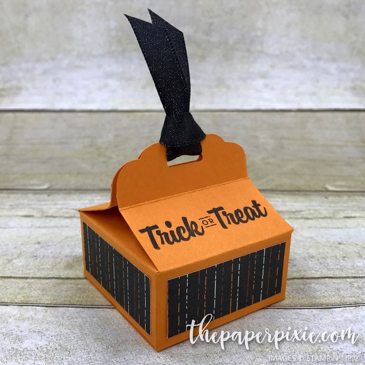 Today's project is my swap for my Paper Pixies team meeting this week – a Scalloped Tag Topper Halloween Treat Box! This box is so easy to make! You can make 2 of these out of one piece of 8-1/2″ x 11″ cardstock. I'm thinking this might be this year's Halloween treats for my trick-or-treaters!…