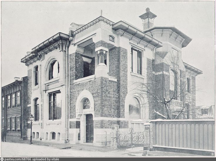 Особняк Льва Кекушева в Глазовском переулке, 1905-1910 гг.