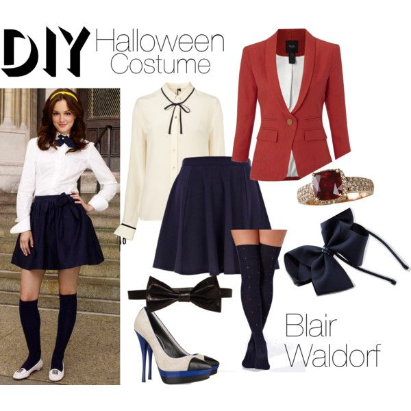 """Blair Waldorf DIY Costume"" by patricia7 on Polyvore"