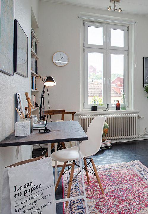 Home Office Via Coco Lapine Design Blog.