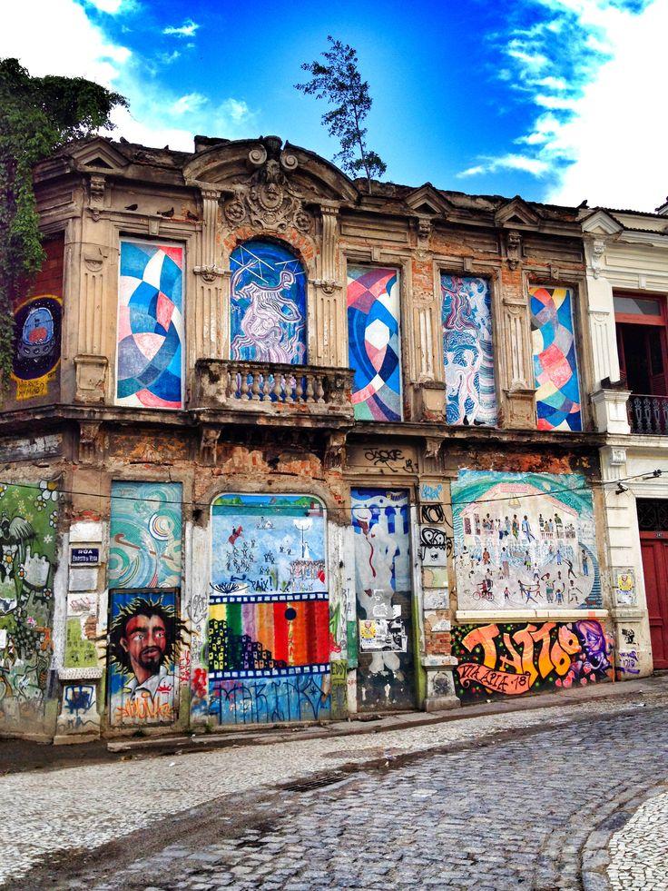 Lapa, Rio de Janeiro, Brazil. #grafiti