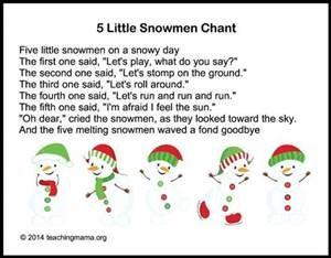 Best 25+ Snowman Fingerplays ideas that you will like on Pinterest | Preschool christmas songs ...