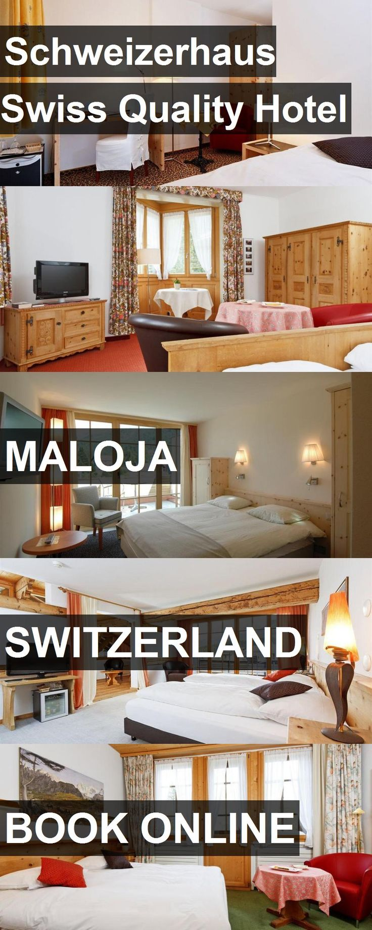 Schweizerhaus Swiss Quality Hotel in Maloja, Switzerland. For more information, photos, reviews and best prices please follow the link. #Switzerland #Maloja #travel #vacation #hotel