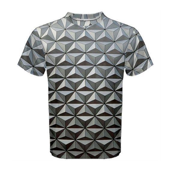 Men's Epcot Spaceship Earth Inspired Shirt by KawaiianPizzaApparel