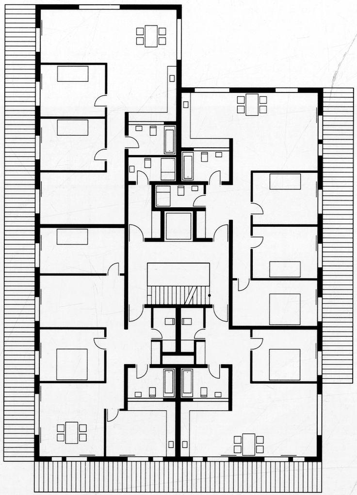 Hegianwandweg housing, Zurich (2003), EM2N Architekten