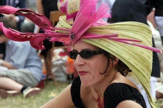 Chapeau rhubarbe
