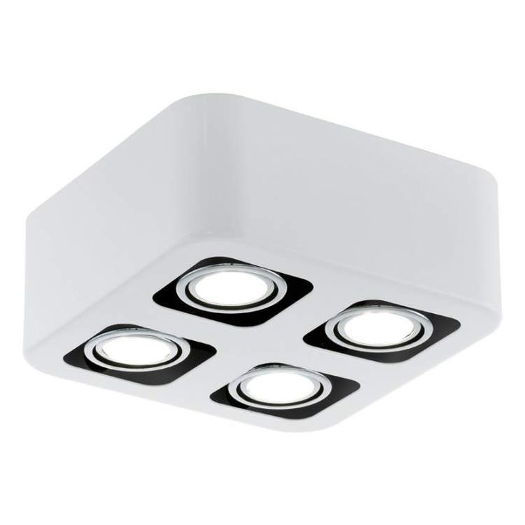Toreno LED kantelbare spot 4L wit