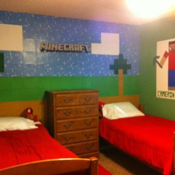 25 best ideas about minecraft bedroom decor on pinterest 12392 | 654247efaaa69f31cbcaf0c019b3b3bb