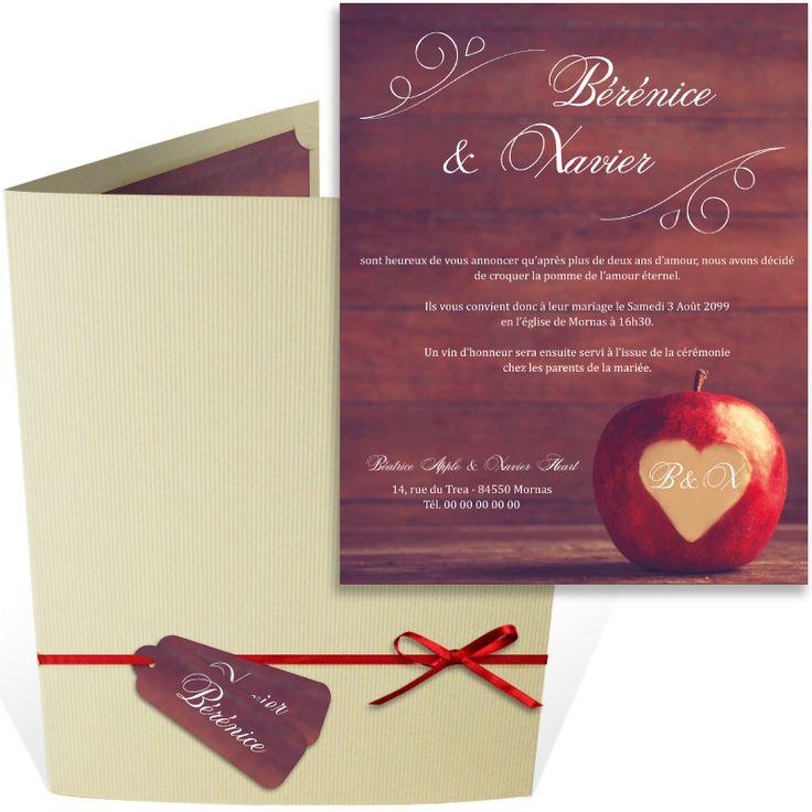 top wedding invitations016%0A Faire part mariage pochette romantique qui annoncera de la plus belle des  mani  res votre union
