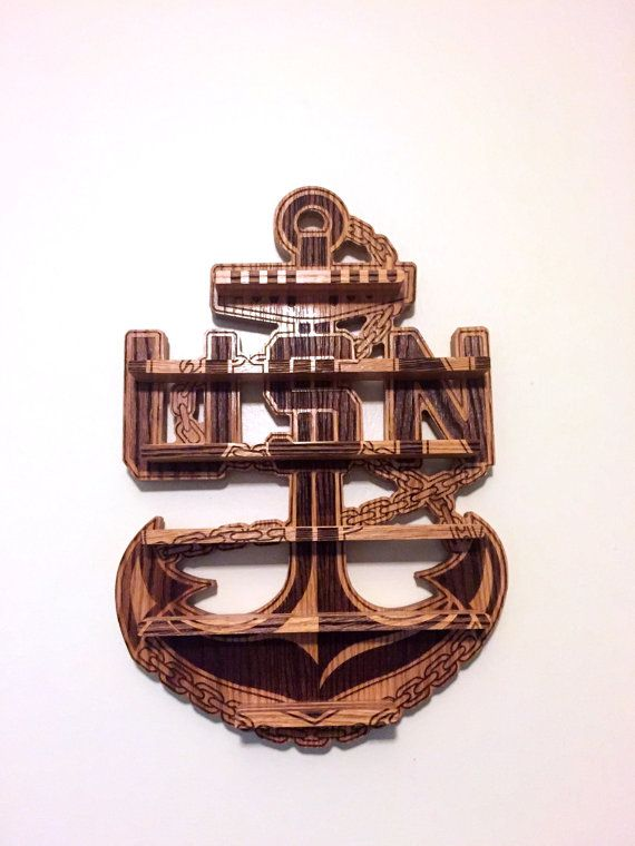 Navy Chief Coin Holder by NDEnterprises on Etsy