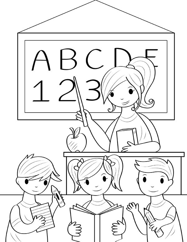 Free printable teacher coloring page. Download it at https ...