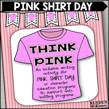 55 best Pink Shirt Day images on Pinterest | Anti bullying ...