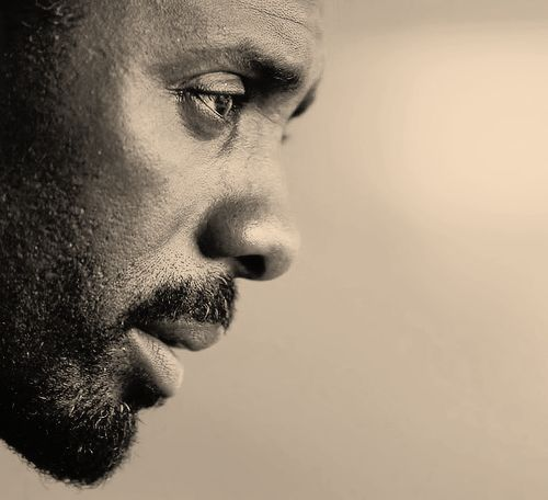 Idris Elba  [he's another one who gets exponentially more attractive as he lets age show on his face]  [...and for the record, i have a healthy and supportive relationship with my dad LOL]