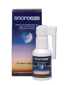 Miscellaneous Snoreeze Anti-snoring Throat Spray 22ml Snoreeze Throat Spray targets the main cause of snoring and is ideal if you tend to snore more when lying on your back.Snoreeze Throat Spray contains a unique blend of active ingredients, which coat t http://www.MightGet.com/march-2017-1/miscellaneous-snoreeze-anti-snoring-throat-spray-22ml.asp