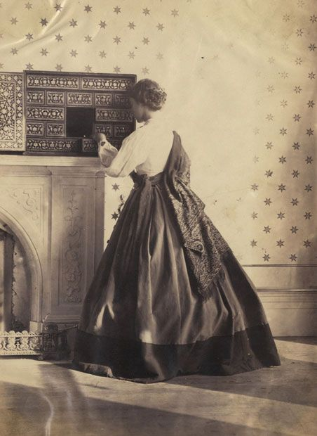 hawarden girls Lady clementina hawarden (british photographer) 1822 - 1865, clementina and isabella grace maude, 5 princes gardens photographic study, ca 1859-64, sepia photograph.