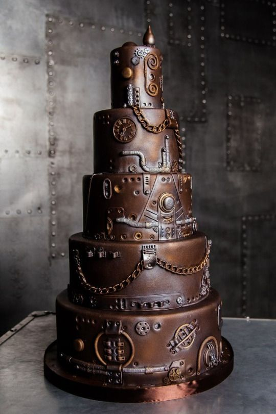punk rock wedding cakes 25 best ideas about steampunk wedding cake on 18844