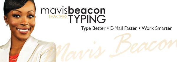 Mavis Beacon typing