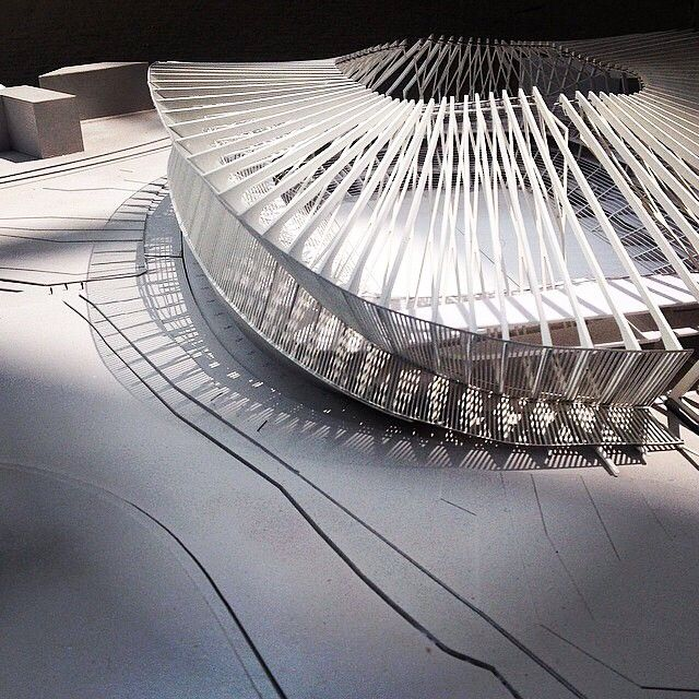Interesting model #arquitectura #maquetas #estadios