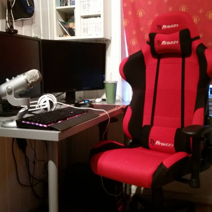 Arozzi Red Torrtetta Gaming Chairs. Awesome Chairs For Your Battlestation,  Office, Workspace,