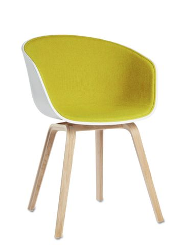 About A Chair AAC 22 Front Fabric (Oak Base) by Hay Denmark