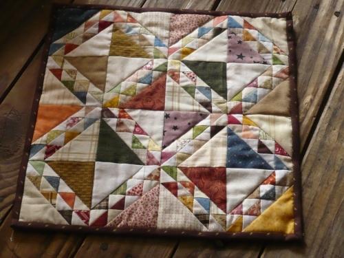 Small quilt = mini quilt
