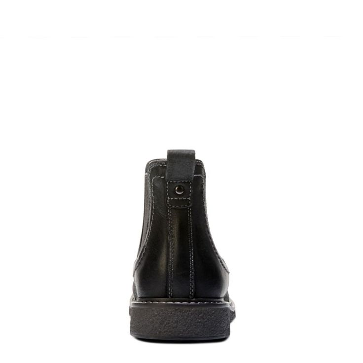 Dockers Men's Stanwell Chelsea Boots (Black Leather)