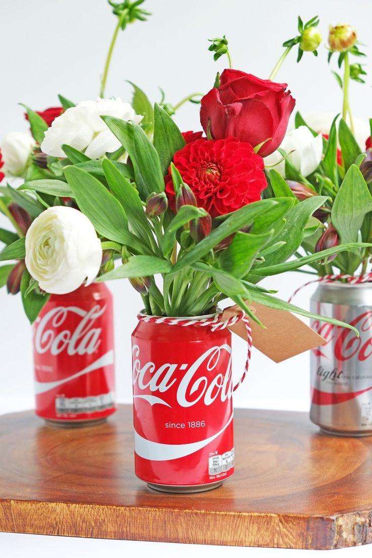 ElsaRblog: Creatief met blikken Coca Cola (Diy Interieur ideeën)