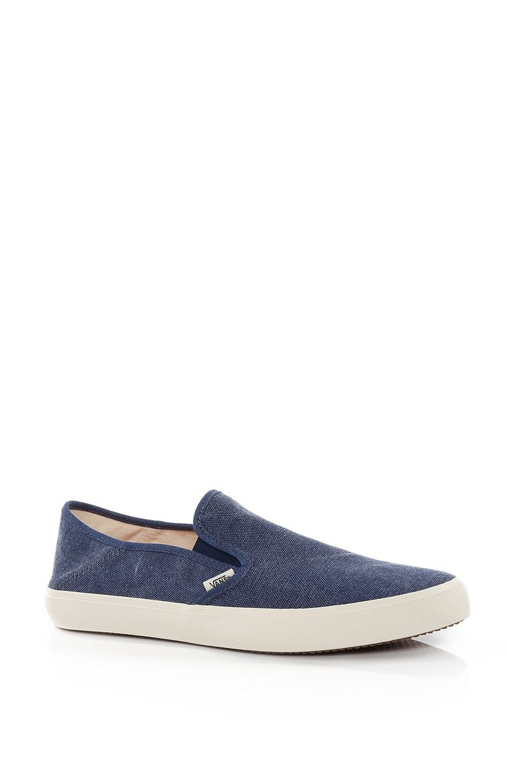 Vans Comino (Slip-On Convertible) (Washed) estate blue Erkek Ayakkabı: Lidyana.com