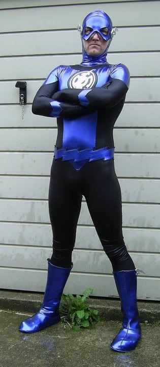 Cosplay Blue Lantern - Flash | Blue Lanterns - Cosplay ...