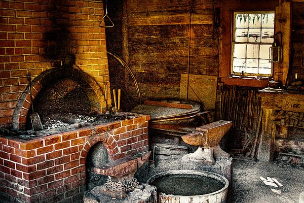 The Blacksmith Shop at Fort Nisqually