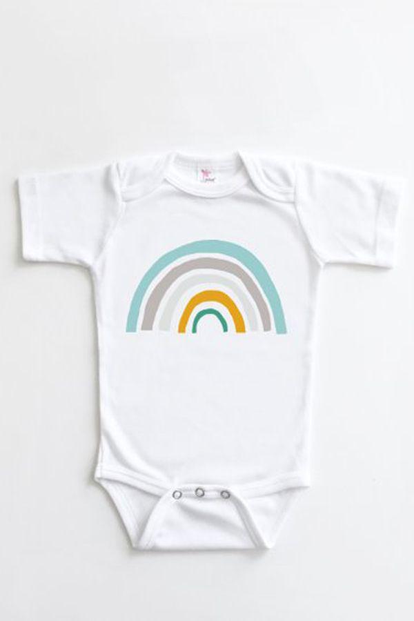 f2b3b8022 Rainbow Baby Onesie - Gender Neutral Rainbow Baby Bodysuit - Boy ...