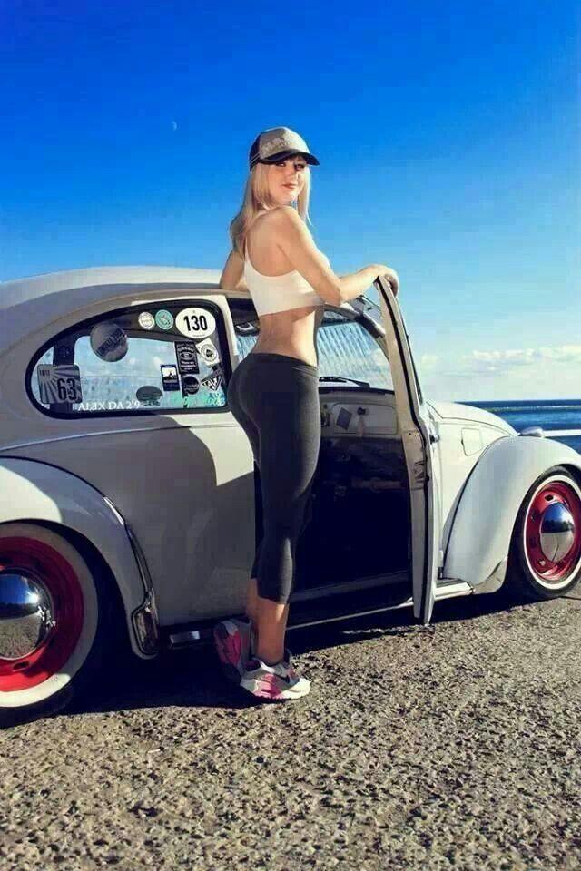 477 best vw girls images on pinterest car girls vw beetles and girl car. Black Bedroom Furniture Sets. Home Design Ideas