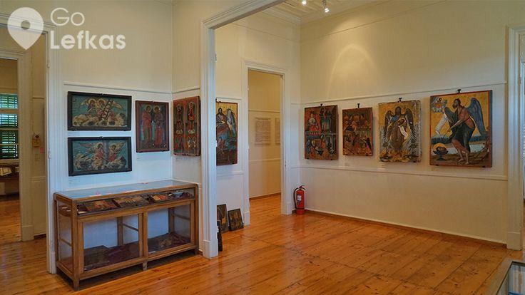 Τμήμα της συλλογής μεταβυζαντινών εικόνων