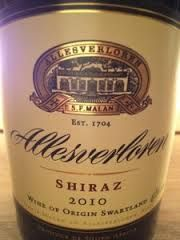 allesverloren shiraz 2011 - Google Search