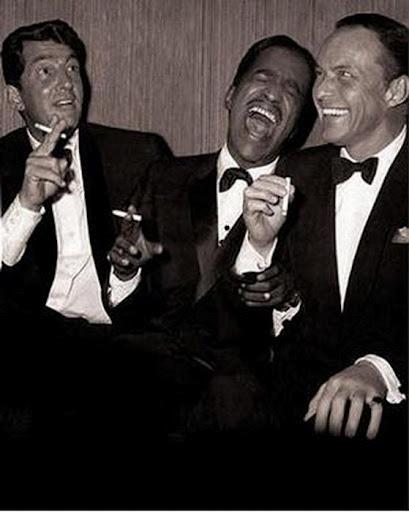 Frank Sinatra, Dean Martin & Sammy Davis Junior. Un trío que era una fiesta