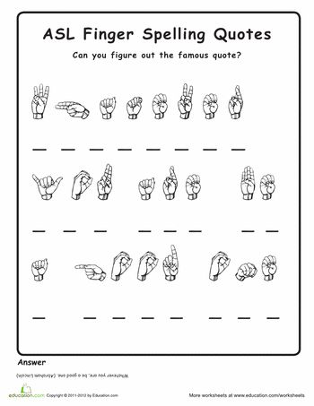 Worksheets Sign Language Worksheets 25 best ideas about sign language alphabet on pinterest learn learning asl and american language