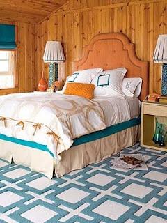 beach decor cabin guest room
