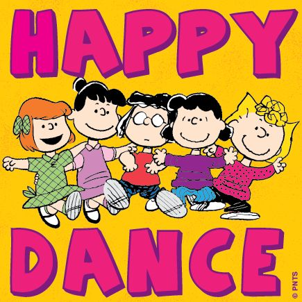 It's Friday, Time for a Happy Dance!
