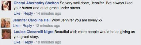 A Fake Heartwarming Story About Jennifer Aniston Is Going Viral