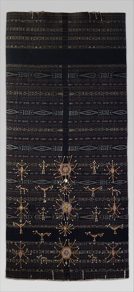 19th century ceremonial skirt.