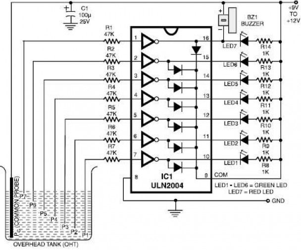 various circuits design this uln2004 electronic project