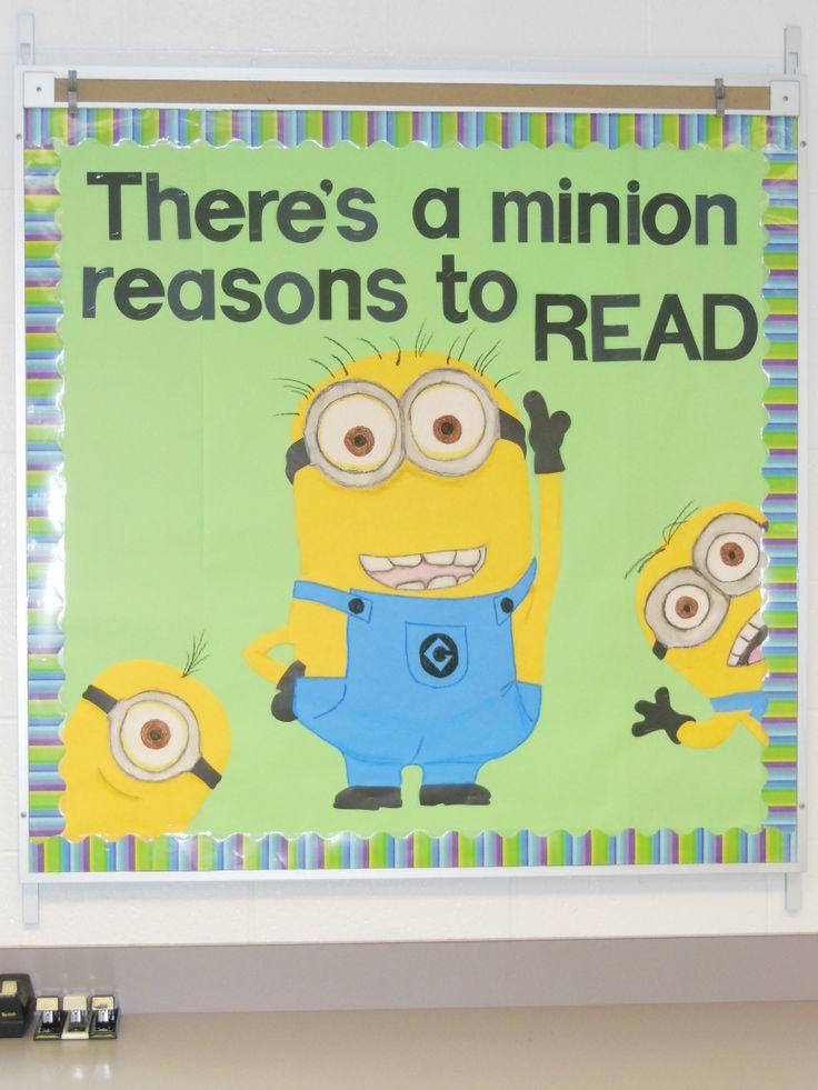 Minion bulletin board