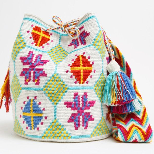 WAYUU TRIBE | #Handmade Bohemian Bags made by the indigenous Wayuu Tribe in…