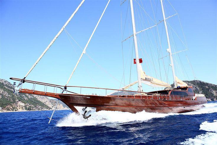 Mezcal II Gulet sailing in Turkey