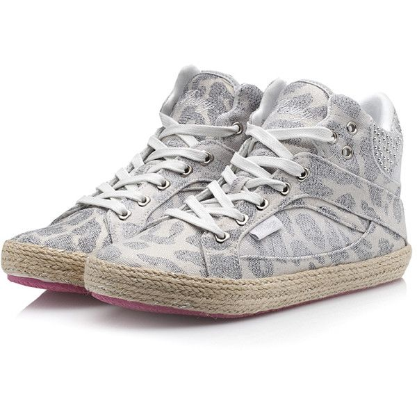 Pastry Sneakers Sire Esp White Cheetah ($43) ❤ liked on Polyvore featuring shoes, sneakers, white hi tops, white hi top sneakers, white high top shoes, white high top sneakers and hi tops