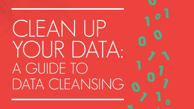 Clean up your data